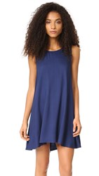 Bb Dakota Kenmore Trapeze Dress Blue Ridge