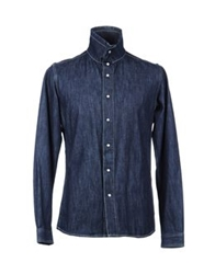 Hotel Denim Shirts Blue