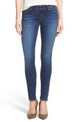 Women's Mavi Jeans Gold 'Adriana' Stretch Super Skinny Jeans Indigo Gold
