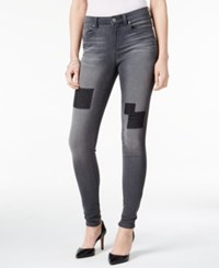 Styleandco. Style Co. Petite Patchwork Graphite Wash Jeggings Only At Macy's Graphite Grey