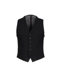 Daniele Alessandrini Vests Steel Grey