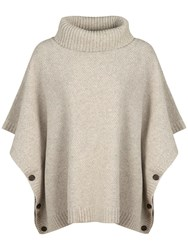 Seasalt Bozands Roll Neck Poncho Aran