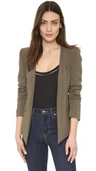 James Jeans Boyfriend Blazer Military Green
