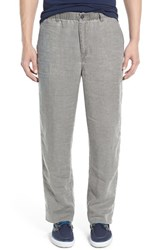 Men's Tommy Bahama 'New Linen On The Beach' Easy Fit Pants Shadow
