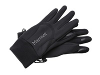 Marmot Women's Power Stretch Glove Black Extreme Cold Weather Gloves