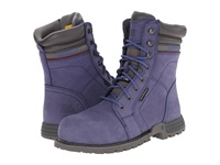 Caterpillar Echo Waterproof Steel Toe Marlin Women's Work Boots Blue