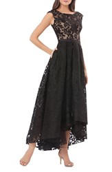 Js Collections Women's Lace High Low Gown