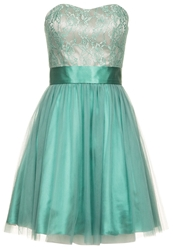 Laona Cocktail Dress Party Dress Mineral Green Creme Mint