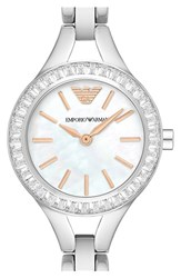 Women's Emporio Armani Leather Strap Watch 28Mm