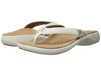 Sole Cork Flips Vellum Women's Sandals White