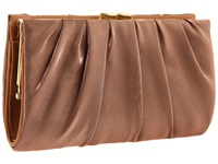 Nina Larry Bronze Clutch Handbags