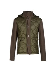 Kaos Coats And Jackets Jackets Men Military Green