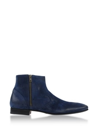 Pete Sorensen Ankle Boots Dark Blue