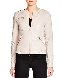 Guess Skye Faux Leather Jacket Light Pink