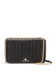 Vince Camuto Quilted Crossbody Clutch Black