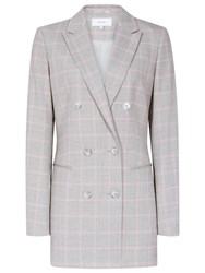 Reiss Marina Fashion Check Blazer