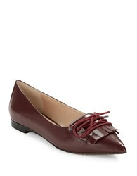 French Connection Geneva Loafer Flats Red