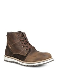 Gbx Dook Leather Boots Tan