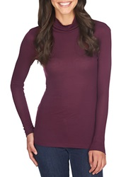1 State Modal Turtleneck Top Cherry