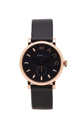 Marc By Marc Jacobs Baker Watch Navy