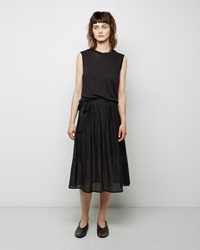 Raquel Allegra Apron Skirt Black