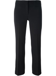 Michael Michael Kors Slim Cropped Trousers Black
