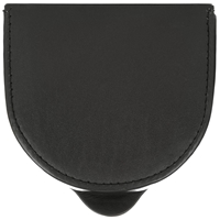 John Lewis Leather Coin Purse Black