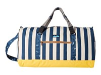 Kavu Duffy Nautical Stripe Bags Blue