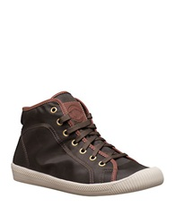 Palladium Flex Lace Up Sneakers Brown