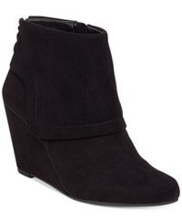 Jessica Simpson Reaca Wedge Booties Women's Shoes Black