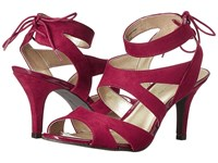 Bandolino Misilana Wine Faux Suede Women's Shoes Red