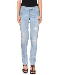 Twin Set Simona Barbieri Denim Denim Trousers Women