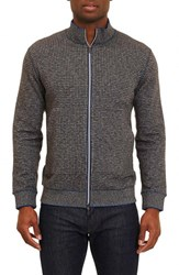Robert Graham Men's Odyssey Reversible Zip Cardigan