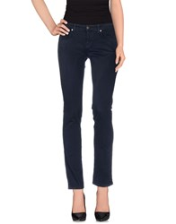 Good Mood Trousers Casual Trousers Women Dark Blue
