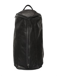 Julius Zip Up Leather Backpack