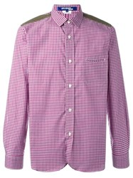 Junya Watanabe Comme Des Garcons Man Checked Shirt Red