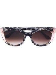 Thierry Lasry Cat Eye Sunglasses Pink And Purple