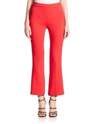 Giambattista Valli Cropped Pants Pink Rose