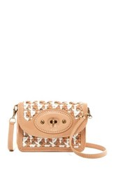 Ugg Brooklyn Woven Tiny Leather Convertible Bag Multi