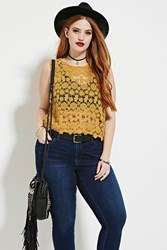 Forever 21 Plus Size Crochet Top