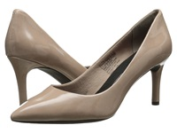Rockport Total Motion 75Mm Pointy Toe Pump Warm Taupe High Heels Beige