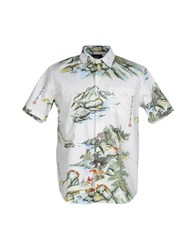 Stussy Shirts Shirts Men Grey