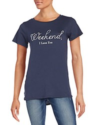 Wildfox Couture Weekend I Love You Traveler's Tee Sailor