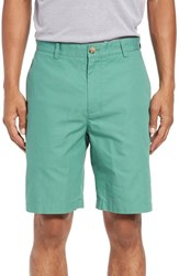 Vineyard Vines Men's Big And Tall 'Summer' Flat Front Twill Shorts Starboard Green
