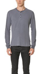 Splendid Mills Long Sleeve Crew Top Charcoal