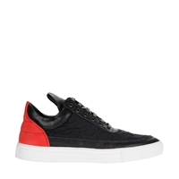 Filling Pieces Low Top Cubiq Black Red