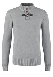 Teddy Smith Parbour Jumper Gris Chine Mottled Grey