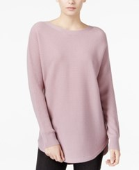 Bar Iii Ribbed High Low Sweater Only At Macy's Elderberry