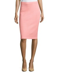 St. John Santana Pull On Pencil Skirt Nectar