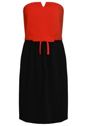 Boutique Moschino Summer Dress Red